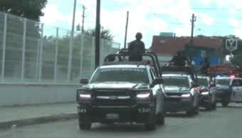 FOTO CNDH investiga ejecución extrajudicial en Nuevo Laredo, Tamaulipas (Noticieros Televisa)