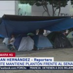 Foto: Cnte Mantiene Plantón Senado Reforma CDMX 24 Septiembre 2019