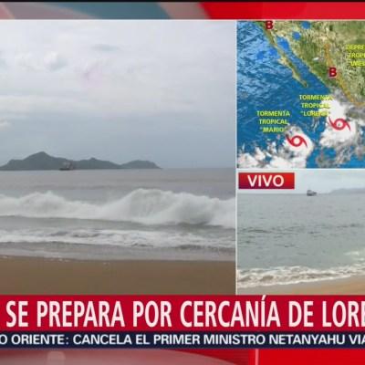 Colima se prepara para lluvias de 'Lorena'