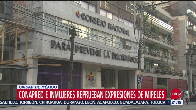 Foto: Conapred Inmujeres Mireles Capacitarse Derechos Humanos 12 Septiembre 2019