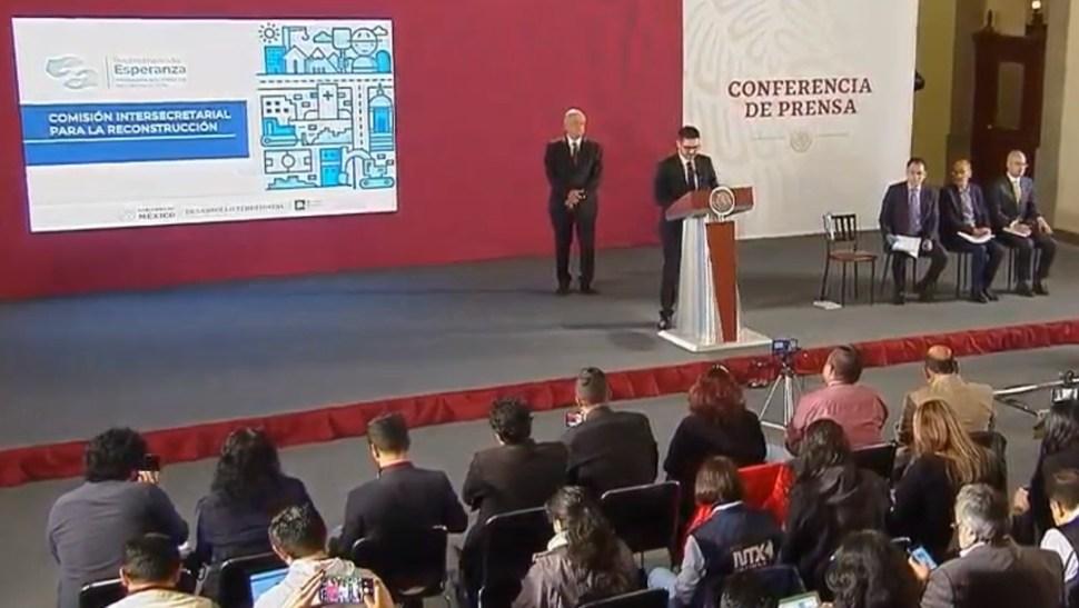 Foto: López Obrador y Román Meyer Falcón, 18 de septiembre de 2019, Ciudad de México