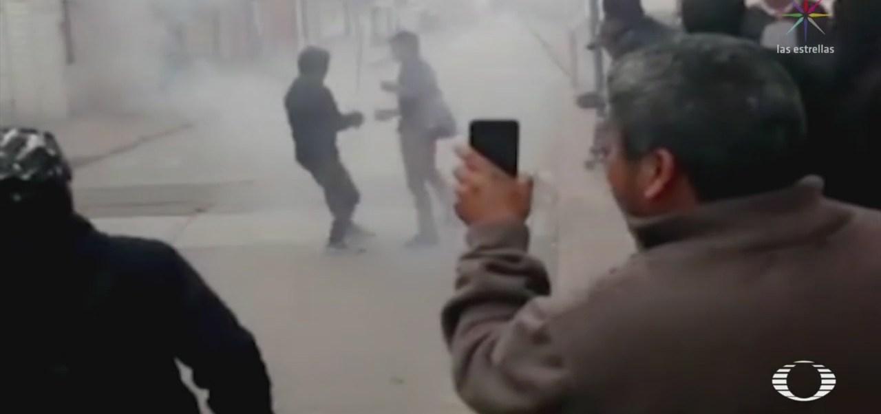 Foto: Conflictos Políticos Detonan Enfrentamiento Oxchuc Chiapas 20 Septiembre 2019