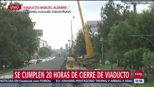 Foto: Cierre Viaducto Retiro Anuncio Espectacular Hoy 21 Septiembre 2019