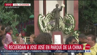 FOTO: Continúa Homenaje José José Azacapotzalco