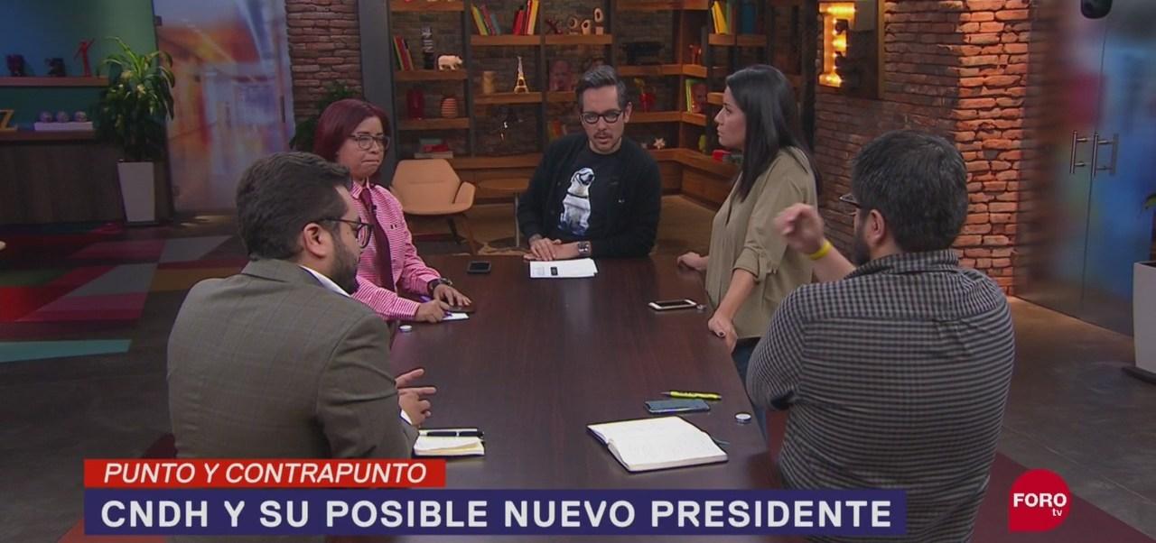FOTO: Convocatoria para elección del presidente de la CNDH, 16 septiembre 2019