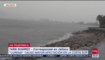 FOTO: Costa Sur Jalisco Afectada Por Huracán Lorena