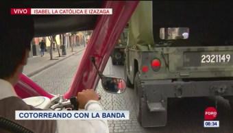 FOTO: #CotorreandoconlaBanda: 'El Repor' suelto en el desfile militar del 16 de septiembre, 16 septiembre 2019