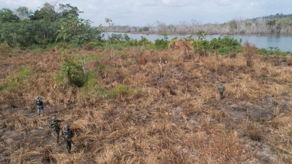 Foto: Daños por incendios en selva amazónica, 5 de septiembre de 2019, Brasil