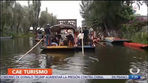 Denuncian pérdidas económicas operadores de trajineras en Xochimilco
