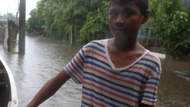 FOTO 'Narda' deja inundaciones, un muerto y un desaparecido en seis estados (Cuartoscuro/Carlos Alberto Carbajal)