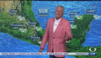Despierta con Tiempo: Lluvias fuertes se prevén en el Valle de México