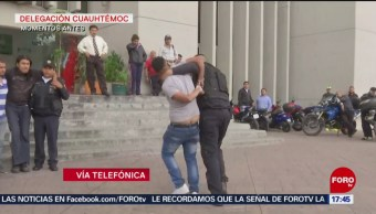 FOTO: Detenido Por Narcomenudeo Alcaldía Cuauhtémoc