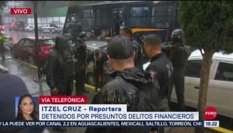 Foto: Detienen 18 Personas Presuntos Delitos Financieros Cdmx Fraudes 24 Septiembre 2019