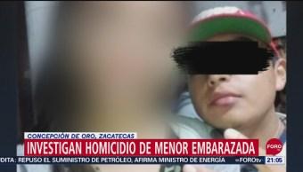 FOTO:Detienen a adolescente, probable feminicida de su novia embarazada en Zacatecas, 17 septiembre 2019