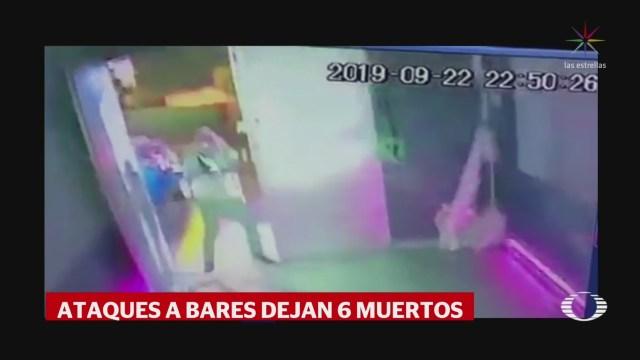 Foto: Detienen Sospechosos Ataque Bar Uruapan 23 Septiembre 2019