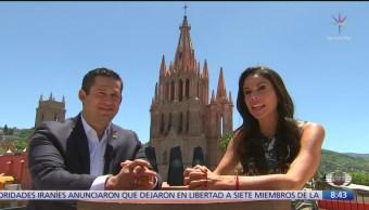 Diego Sinhué, gobernador de Guanajuato, en Al Aire con Paola Rojas