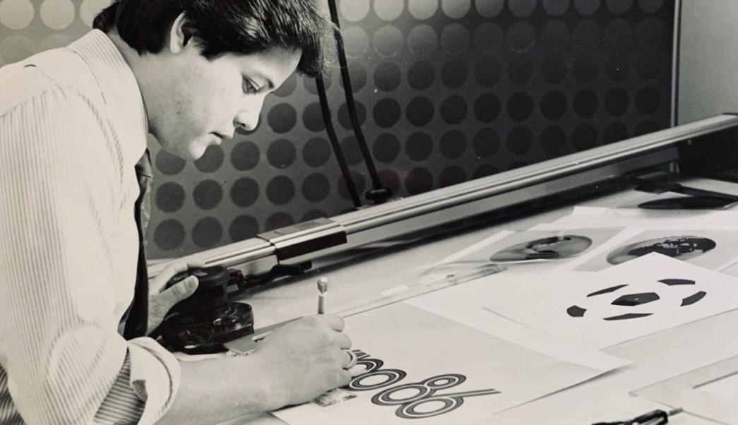 Resultado de imagen para fotos Rubén Santiago hernández, creador logo México 86