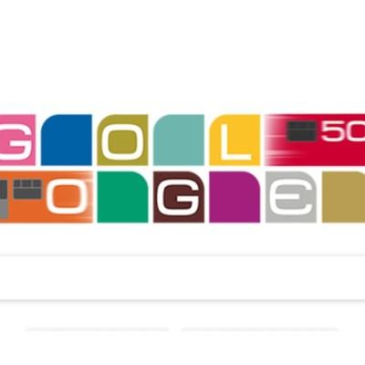 Metro de la CDMX celebra 50 años con colorido doodle