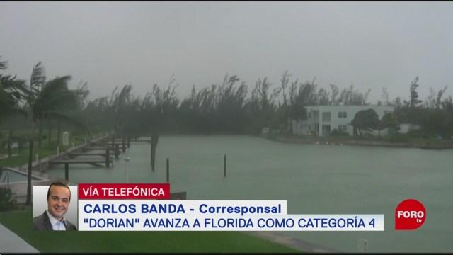 FOTO: Dorian Acerca Sur Florida Como Categoría 4