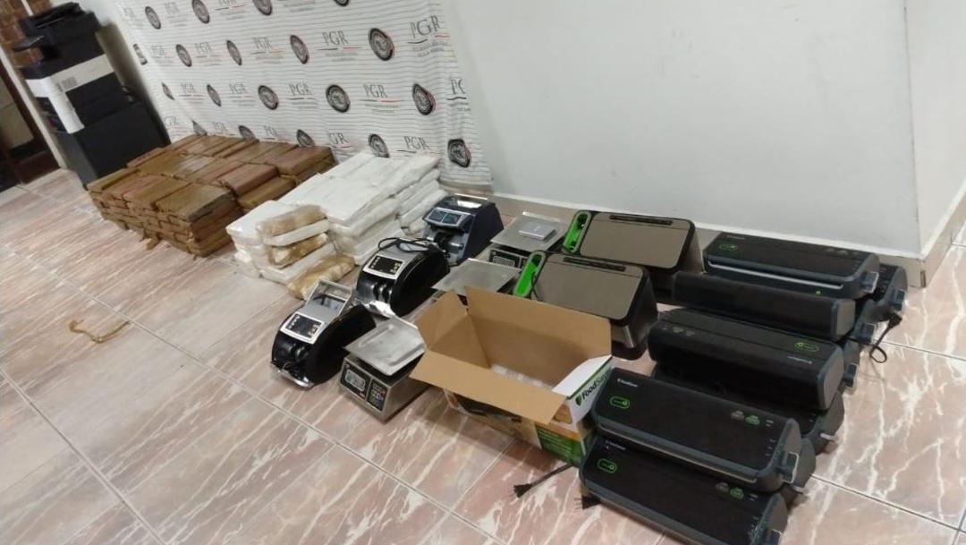 Foto: Sedena asegura droga con valor superior a 52 millones de pesos en Matamoros, 28 septiembre 2019