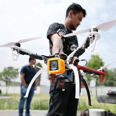Estudiantes del IPN crean dron capaz de localizar víctimas de sismos e inundaciones
