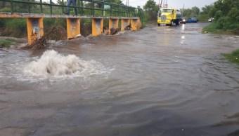 FOTO: Las lluvias de este sábado causaron severas afectaciones en Zapopan y Guadalajara, 7 de septiembre de 2019 (Twitter @UMPCyBZ)
