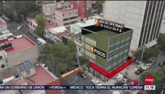 Edificio Medellín, en CDMX, colapsó 50 minutos después del sismo de 2017