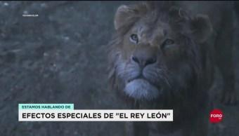 """Efectos especiales de """"El Rey León"""""""