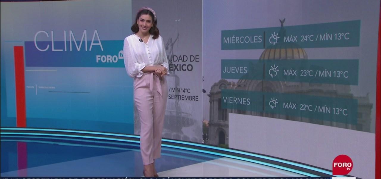 FOTO: clima A las Tres con Daniela Álvarez 10 septiembre 2019