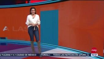 FOTO: clima A las Tres Daniela Álvarez 11 septiembre 2019