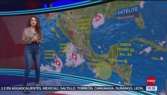 FOTO: Clima Con Mayte Carranco 18 Septiembre 2019