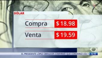 El dólar se vende en $19.59