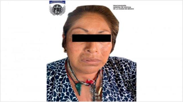 Foto: Califican de legal detención de 'La Bruja', 22 de septiembre de 2019 (PGJCDMX)