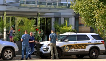 Foto: Cuatro de las víctimas fueron encontrados en sus departamentos, una en el elevador de su edificio y otros más en plena calle, 22 de septiembre de 2019 (AP)