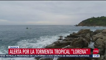 FOTO: Oaxaca Hay Alerta Por Tormenta Tropical