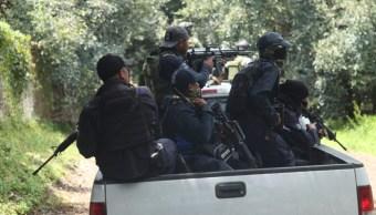 FOTO Nuevo enfrentamiento en Michoacán, hay 2 detenidos (Juan José Estrada/Cuartoscuro)