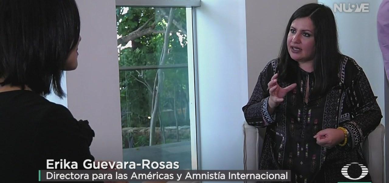 FOTO: Erika Guevara-Rosas Habla Esfuerzos Para Combatir Tortura