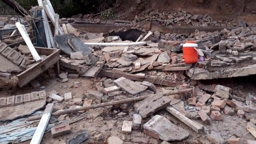 Foto: Escombros por terremoto en Pakistán, 24 de septiembre de 2019