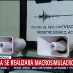 Foto: Actividades Macrosimulacro Sismos 19s Cdmx 18 Septiembre 2019