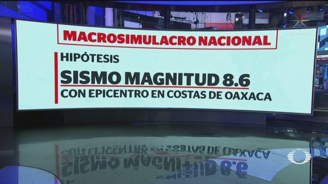 Foto: Macrosimulacro Evacuación Máximo 15 Minutos 18 Septiembre 2019