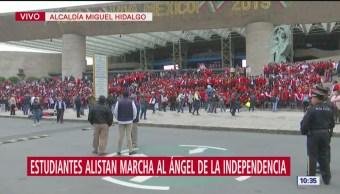 Policías federales analizan posibles movilizaciones en la Ciudad de México, en protesta a su incorporación a la Guardia Nacional