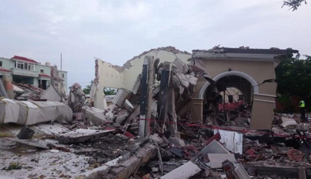 Foto: Explosión restaurante Boca del Río, 10 de septiembre de 2019, Veracruz