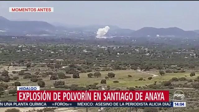 FOTO: Explota polvorín en Hidalgo; hay dos muertos, 27 septiembre 2019