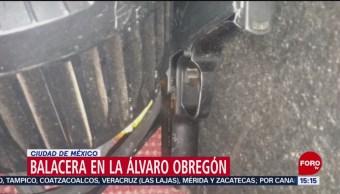 FOTO: Fallece una persona tras balacera en evento musical en San Ángel, 8 septiembre 2019