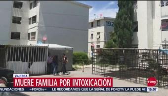 FOTO: Fallecen cinco miembros de familia por intoxicación por acumulación de gas en Puebla, 15 Septiembre 2019