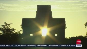 FOTO: Fenómeno Astronómico Marca Inicio Otoño Yucatán