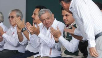 """Foto: Andrés Manuel López Obrador, presidente de México, encabezó el """"Diálogo con la Comunidad del Hospital Rural Zacualtipán, en Hidalgo. Cuartoscuro"""