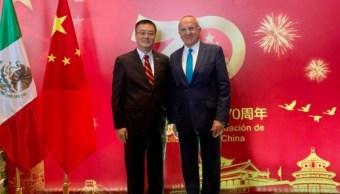embajador de China en México, Zhu Qingqiao