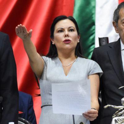 Eligen a la panista Laura Rojas como presidenta de la Cámara de Diputados