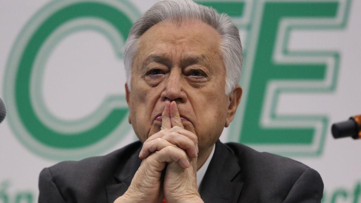 Foto: Manuel Bartlett Díaz, director general de la Comisión Federal de Electricidad (CFE). Cuartoscuro